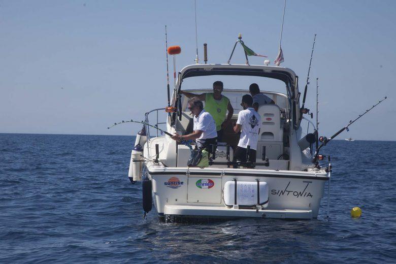 pesca d'altura al tonno