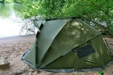 tenda per carpfishing
